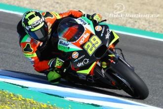 Jezdci Aprilie hodnotí start v Jerezu