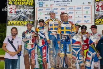 Semifinále ME dvojic – Lonigo
