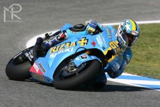 Suzuki do závodu ze čtvrté řady