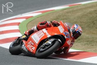 Těžký závod pro Ducati