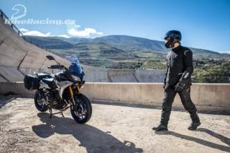 Širší výběr pro jezdce na motocyklu Tracer