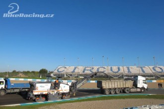 Okruh v Jerezu dostává nový povrch