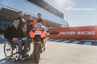Pedrosa navštívil továrnu KTM