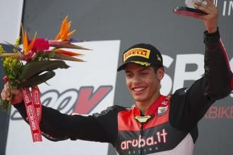 Rinaldi s Ducati týmu GoEleven