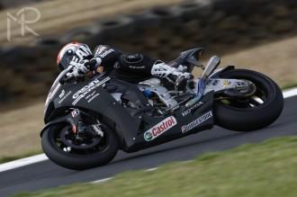 Alex de Angelis opět nejrychlejší od Hondy
