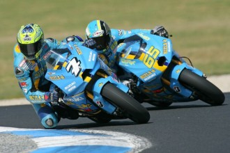 Rizla Suzuki MotoGP do Sepangu