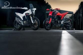 Designové studie strojů Honda 125cc