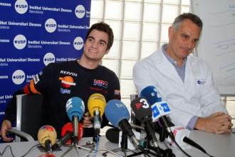 Pedrosa propuštěn z nemocnice