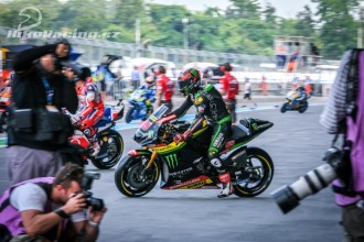 Spokojenost u Monster Yamaha Tech3