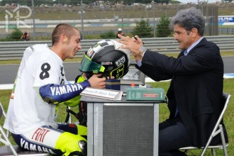 Valentino Rossi  Mistr světa MotoGP 2008