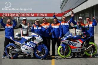 Montáže Brož Racing po pátečním Brnu