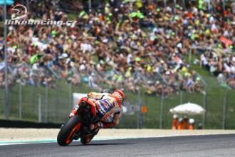 Marc odstartuje z pole position