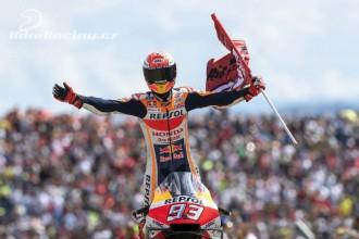 Další triumf v řadě pro Márqueze