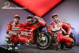 Ducati představila barvy pro 2019