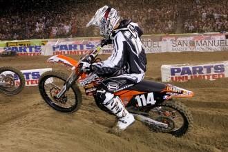 KTM o supercrossu v Anaheimu