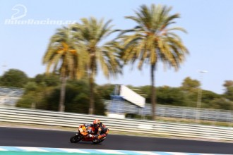 IRTA test Moto3 Jerez – pátek