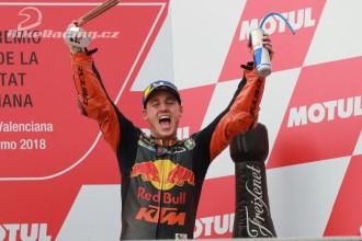 První pódium MotoGP pro KTM