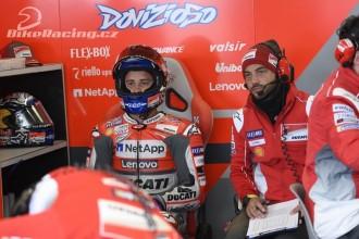 Dovizioso a Lorenzo o nedělním zrušení GP