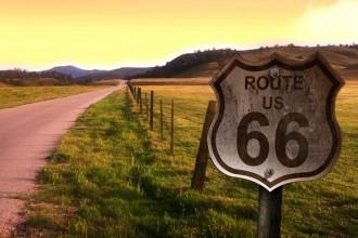 Česká asociace Route 66 na chodníku slávy