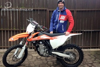 Pavel Kejmar za MTR KTM Racing