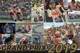 Nástěnný kalendář Grand Prix 2019