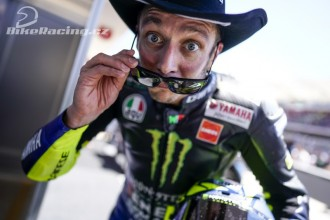 Valentino Rossi bojoval o vítězství
