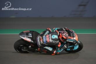 Fabio Quartararo druhý nejrychlejší