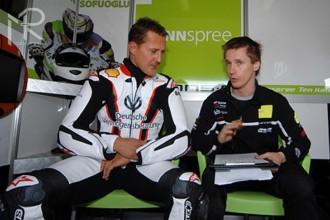 Michael Schumacher testoval Hondu Ten Kate