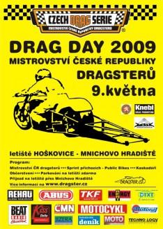 1st  Drag Day 2009  Hoškovice