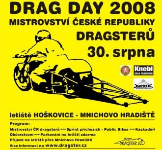 17. DRAG DAY ukončí republikovou sezonu