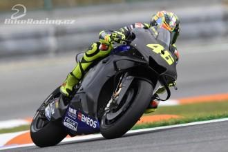 Vinales a Rossi testovali nový stroj