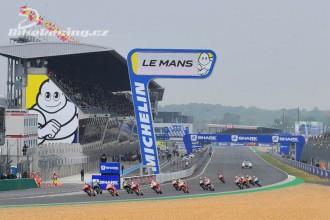 Jak v Le Mans...