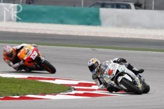 Dovizioso si připsal první MotoGP pódium