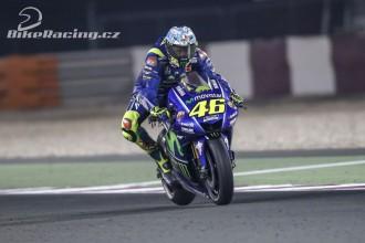 Rossi: V závodech budu rychlejší