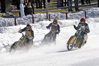 Stockholm - kvalifikace Ice Speedway (1.den)