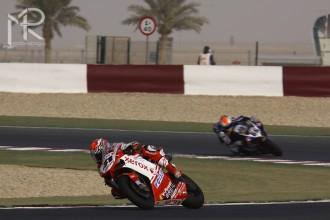 Ducati Xerox Team před Valencii