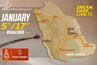 Trasa Rally Dakar 2020