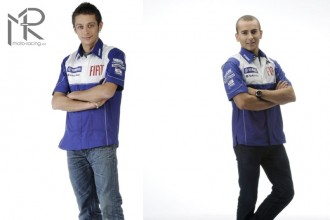 Rossi and Lorenzo head to head