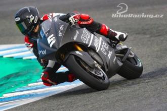 Test MotoE Jerez – pátek