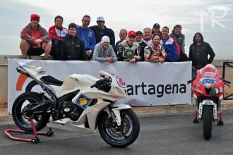 První předsezónní test týmu Intermoto