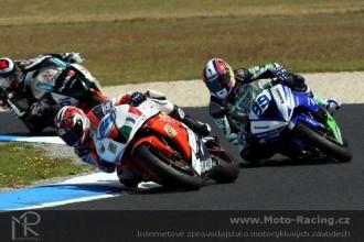 První závod - oba jezdci v top 10