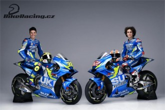 Suzuki odhalila barvy pro sezonu 2019