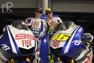 MotoGP test Sepang: fotografie z představení Yamahy