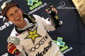 Libor Podmol získal na X-Games stříbro