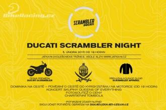 Pozvánka na Ducati Scrambler Night