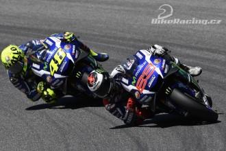 Lorenzo vyhrál, Rossi nedokončil