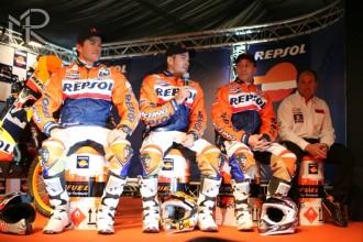 Repsol představil tým pro Dakar 2009