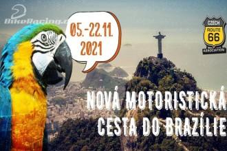 Velká podzimní motoristická jízda Brazílií