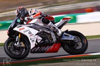 MS Racing poprvé na Apriliich