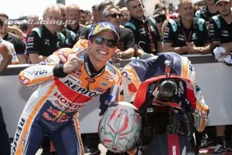 Marquez počtvrté vyhrál, Lorenzo spadl